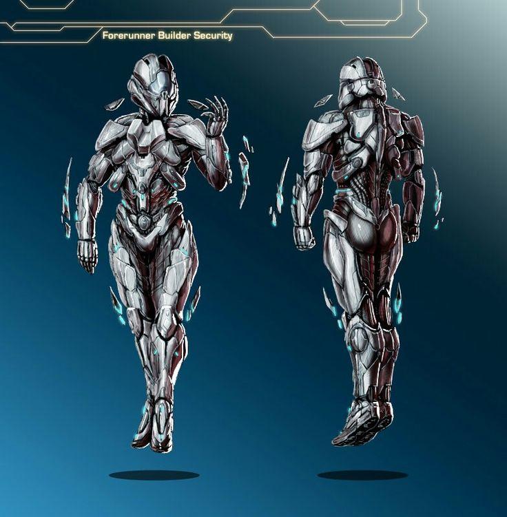 Halo forerunner builder security