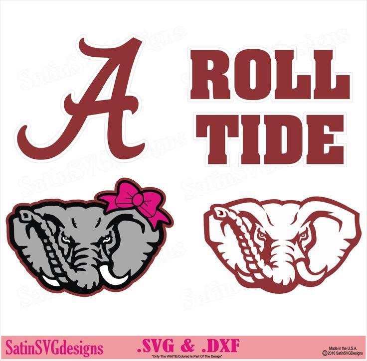 Alabama elephant roll tide design kit files use your