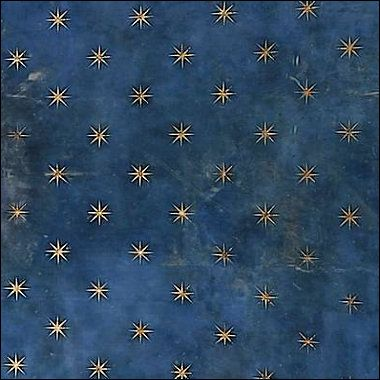 Giotto Sky Detail, Scrovegni/Arena Chapel: Giotto Sky, Starry Night, Ceiling, Stars, Art, Sky Detail