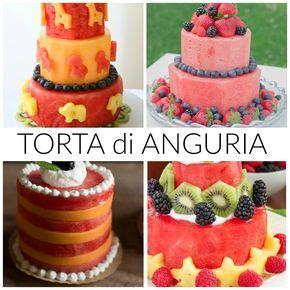 Torta di anguria: come si prepara http://www.babygreen.it/2016/06/torta-di-anguria/