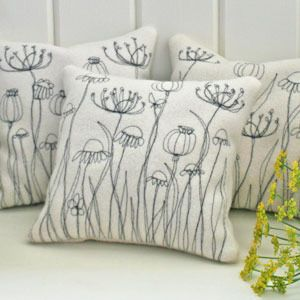 Meadow Herb Cushion - Cushions Manufacturer and Wholesaler from Snapdragon, Uk