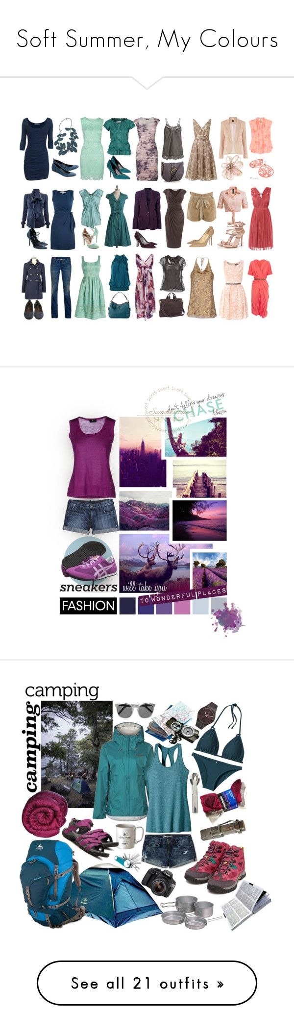 """""""Soft Summer, My Colours"""" by nyrvelli ❤ liked on Polyvore featuring Sergio Rossi, Lanvin, Diane Von Furstenberg, Safiyaa, Alexander Wang, Jimmy Choo, Maison Margiela, Plein Sud Jeanius, Miss Selfridge and Le Silla"""