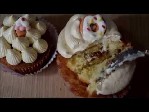 How to make surprise caramel cupcake-Evicita #cakes #cupcakes #caramel #surprise