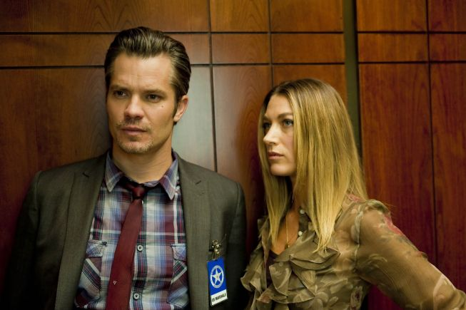 JUSTIFIED Raylan and Winona - See photos of the FX Western/Crime TV series