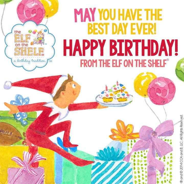 Elf On The Shelf Birthday Letter Template