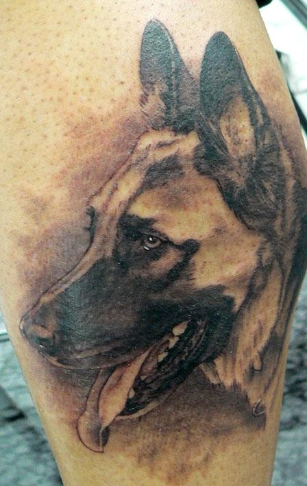 tattoo by xavier garcia boix german shepherd my favorite dog pinterest photos and. Black Bedroom Furniture Sets. Home Design Ideas