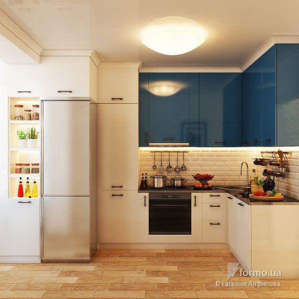 Квартира с нотками скандинавского стиля, Евгения Анфилова, Кухня, Дизайн интерьеров Formo.ua