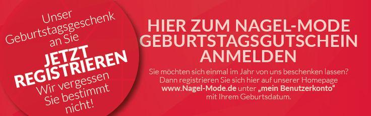 NEU•NEU•NEU•NEU•NEU  Du registrierst Dich für den Geburtstags-Gutschein unter www.nagel-mode.de und das Modehaus Nagel wird Dich an Deinem Geburtstag bestimmt nicht vergessen.