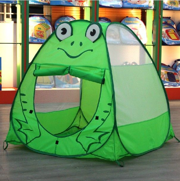 Free shipping kid ten with animal design Child tent portable magic of oversized game house animal tent ocean ball $22.12