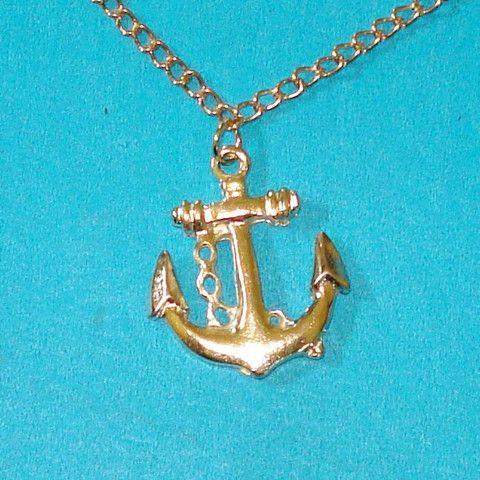 Golden Anchor Bracelet - Mookie Designs