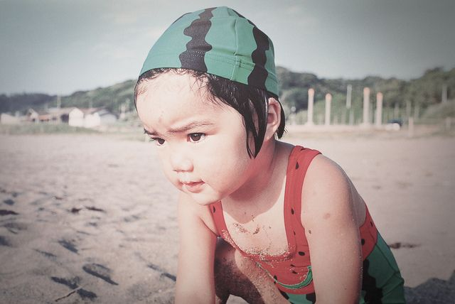 Watermelon Mirai♪ Miraichan Photobook by Kawashima Kotori   Flickr - Photo Sharing!