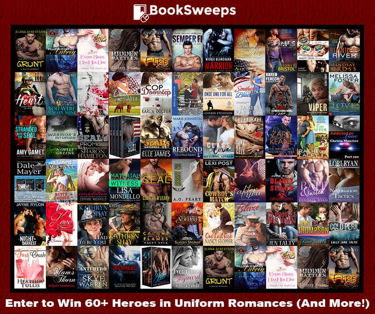Enjoy the chance to win more than 60 heroes in uniform romance novels from your favorite award-winning and bestselling authors, plus a new Kindle Fire!