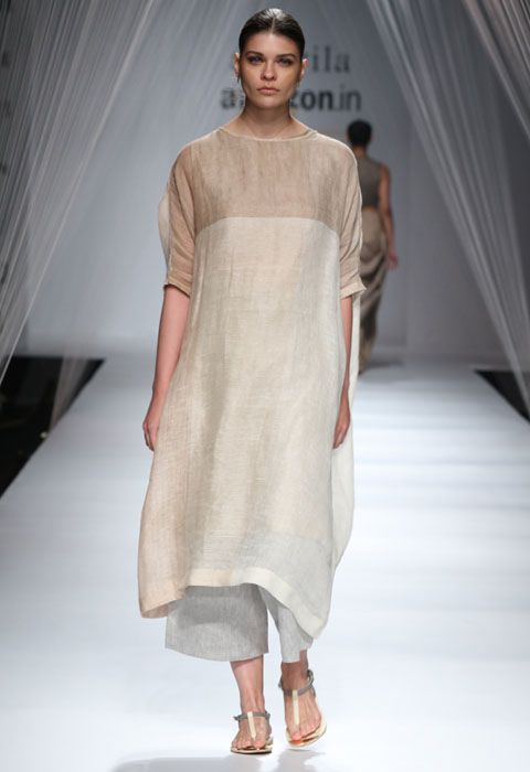 Anavila Misra Show at AIFW SS'16 Anavila Misra's 'The Secret Life of Forests' narrated a story of minimalism and subtle design elements