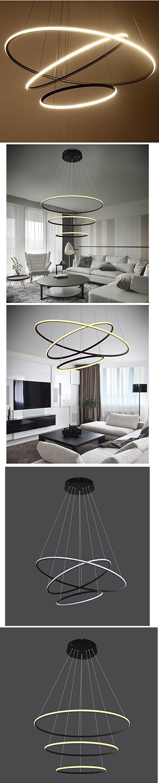 Circular LED Chandelier   Craze Trend