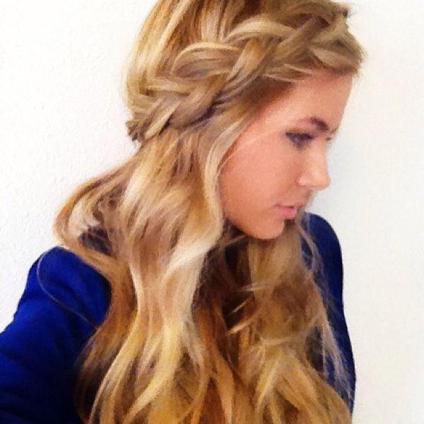 Hair For Winter Ball Possibility Random Pinterest Hair