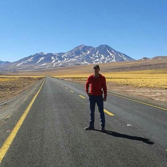 Camino a Talar desde San Pedro de Atacama