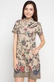 Hasil Gambar Untuk Gaun Pesta Batik Pendek Batik Batik Dress