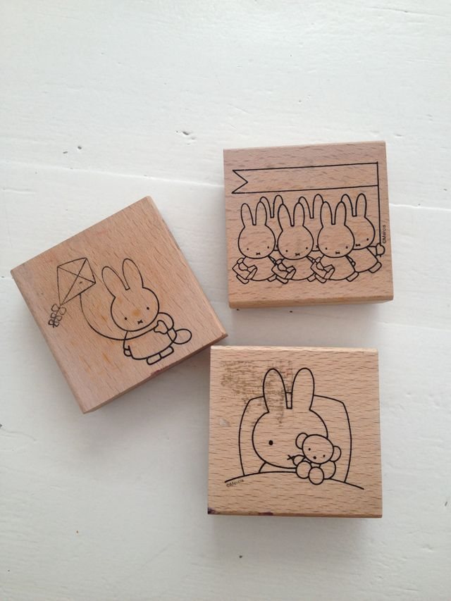Miffy rubber stamps