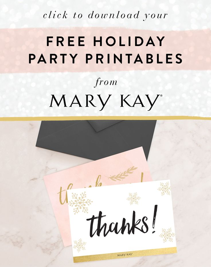 Everyone loves receiving letters, especially during the holiday season! Send festive thank-you cards to thank friends and family for gifting, hosting and visiting for the holidays!   Mary Kay
