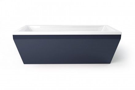 Indigo freestanding bath from Utopia Bathrooms.