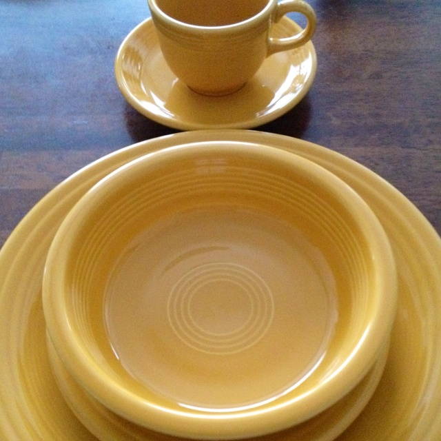 This is my second favorite color in Fiestaware Marigold. & 27 best My Fiestaware Collection images on Pinterest | Dinnerware ...