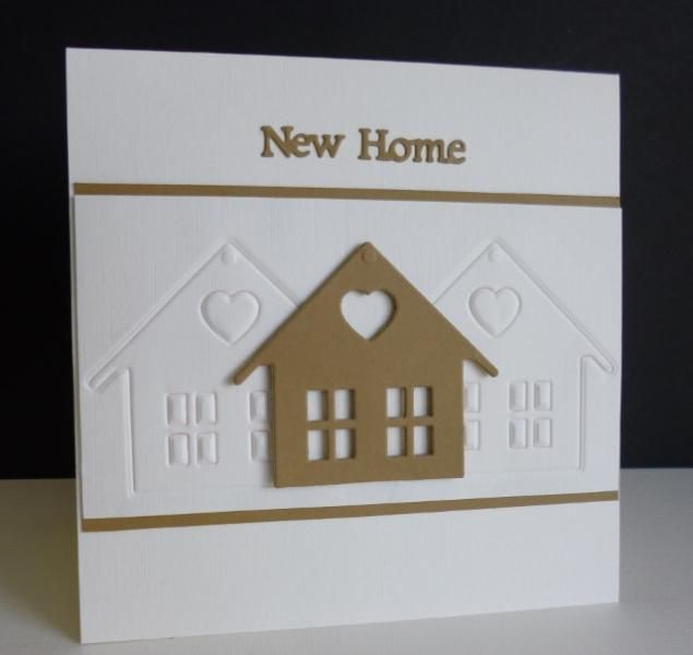 QFTD219 ~ New Home - Marianne -  New Home Die and Stamp Set.