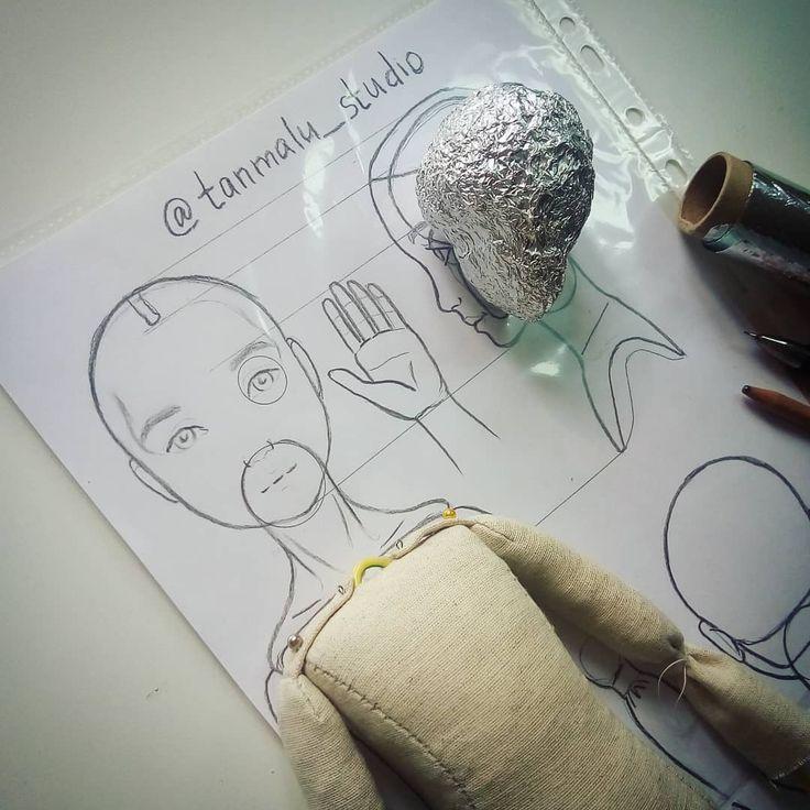 396 отметок «Нравится», 7 комментариев — Tatiana Malushkina (@malushkina.tatiana) в Instagram: «А между тем, я обещала рассказать, как мы работаем над самой куклой. На курсе мы рисуем, чертим,…»