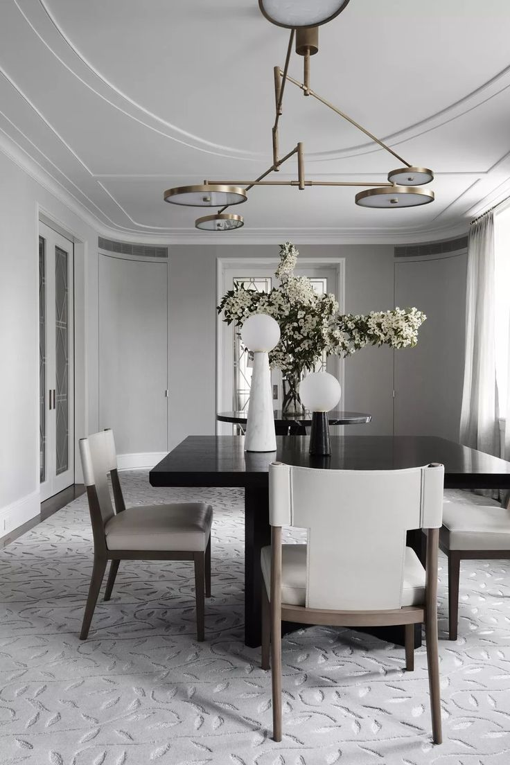 Contemporary Pendant Lighting For Dining Room Minimalist Cool Design Inspiration