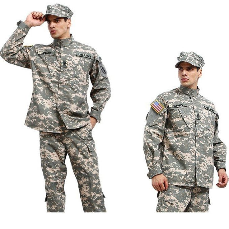 Military Army Shirt + Pants Multicam ACU Tactical Uniforms US Army Desert Combat Airsoft Suits Sets
