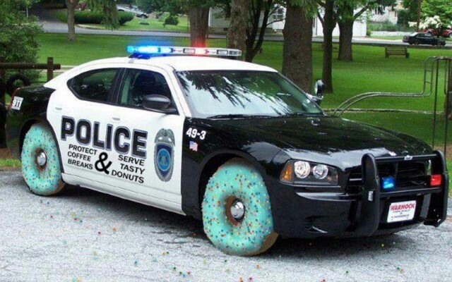 funny vehicles cop car with fitting tires good cop bad cop funny pinterest