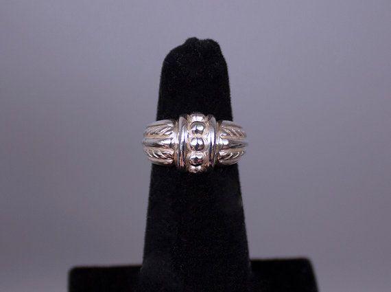 Sterling Silver Judith Ripka Ring Vintage Judith Ripka Sterling Silver Ring