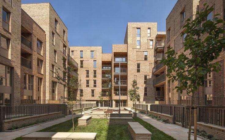 panter hudspith architects Royal Road housing
