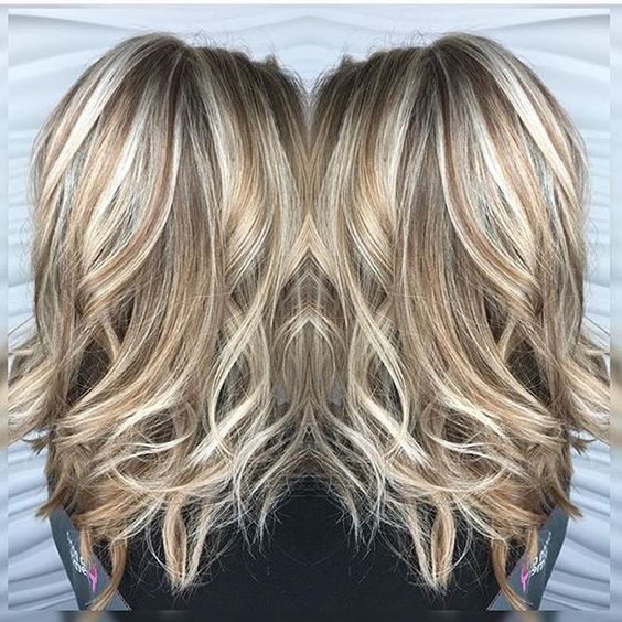 Blonde Highlights And Lowlights 2017 Highlights Pinterest Hair
