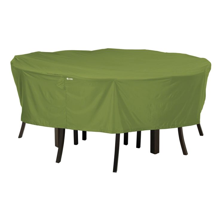 Classic Accessories, Sodo Herb Garden Round Patio Table Set Cover