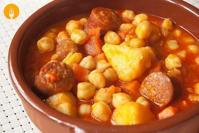 236 best images about cocina sopas potajes cremas on for Cocinar garbanzos con chorizo