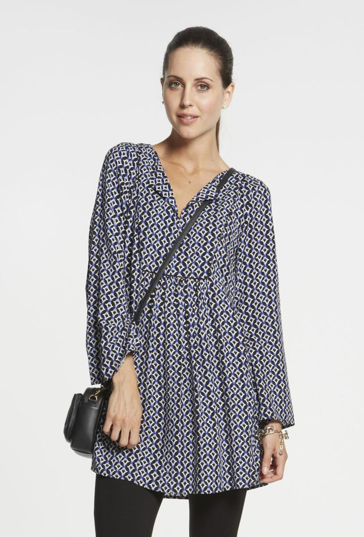Smock Front Tunic $119