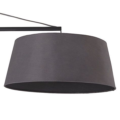 Buy John Lewis Greyson Reach Floor Lamp, Grey Online at johnlewis.com
