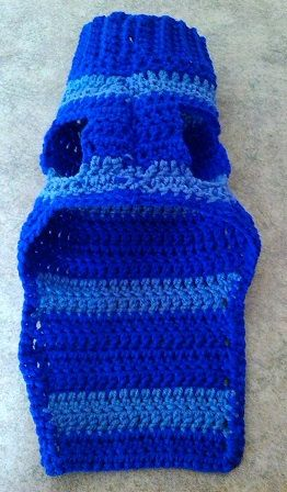 Crochet Small Dog Sweater FREE SHIPPING by BrendasCraftPatterns, $20.00