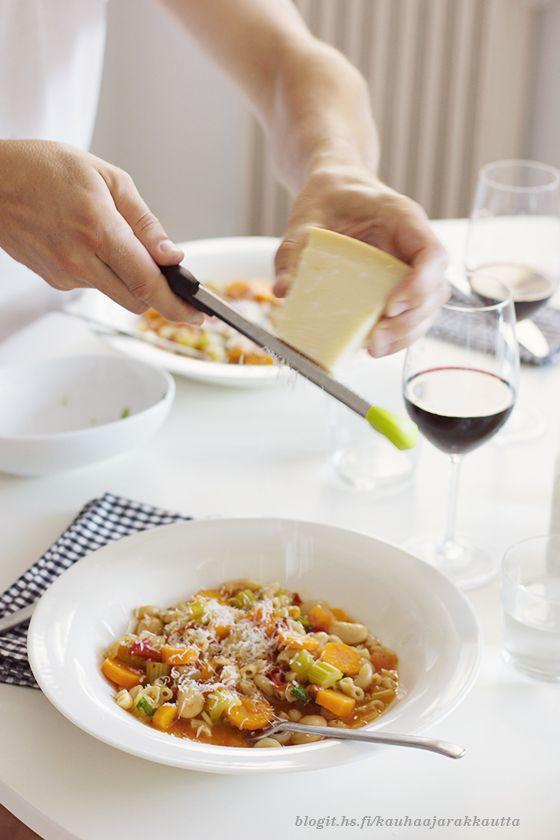 Pimeneviin iltoihin: Pasta e fagioli
