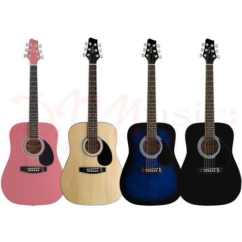 Stagg 3/4 Size Kids Acoustic Guitars - This is an all round perfect guitar for children to start with and build their skills.
