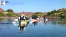 Kalahari Outventures. We offer 4 day Augrabies canoe trails, Augrabies rafting, Xstream 4 day flyfishing safaris, Kalahari safaris, teambuilding and corporate events, guide training and paddle school.  Also a backpackers and river camp, bookings office and information centre.