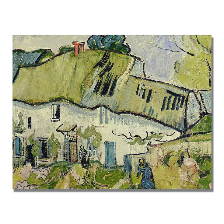 Add sophistication and class with this well known art piece by Vincent van Gogh. Details: Artist: Vincent van Gogh Titled The Farm in Summer Gallery-wrapped Canvas Artwork Style: Museum Masters Horizo