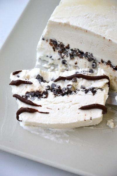 Homemade Viennetta Ice Cream Cake