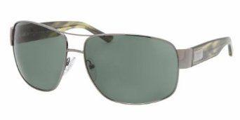 Prada Sunglasses SPR61L GUNMETAL / GREEN 5AV3O1 Prada. $202.99