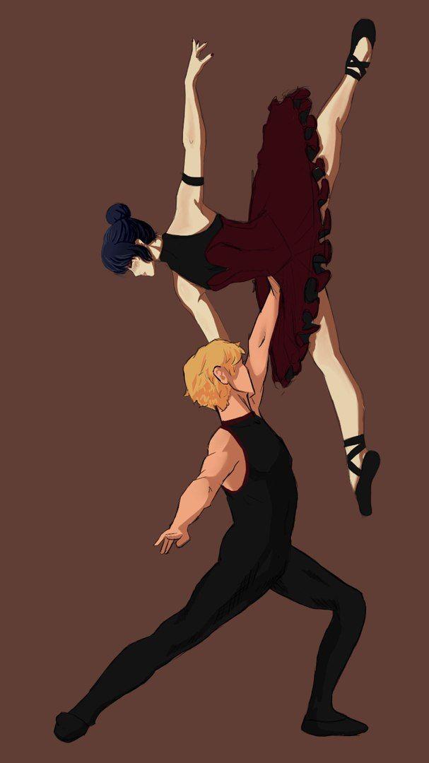 Moar Miraculous Ballet~ (Miraculous Ladybug, Adrien, Marinette)