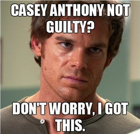 Casey Anthony came up in the news today. This immediately came to mind