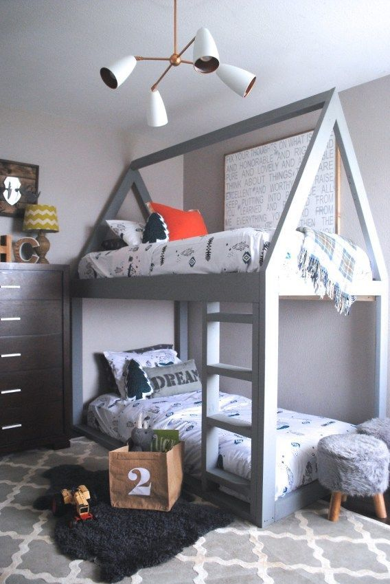 I Spy Land of Nod Bedding, lighting, and storage on The Rugged Rooster