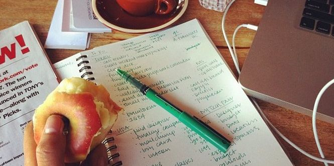 Want to get organized? Start by making these lists.