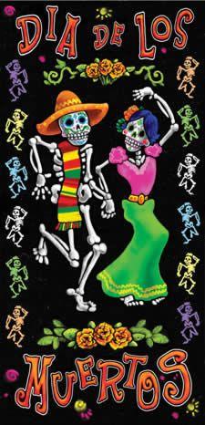 great idea for when studying dia de los muertos