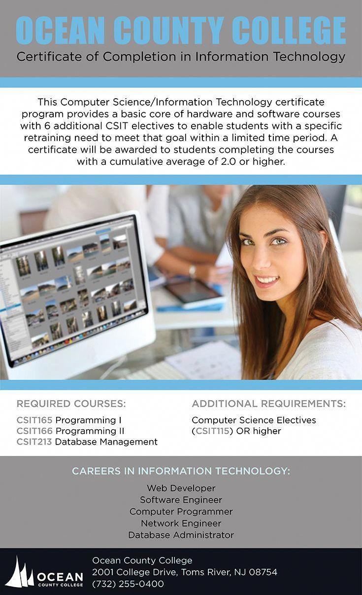Programming Certifications Neonatalnursing Information Technology Computer Science Certificate Programs